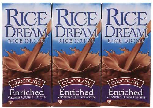 (Dream Rice Dream Drink, Enriched Chocolate, 32 oz, 3 pk)