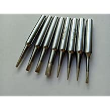 """8 PCS Soldering Tips (China Made, Brand is """"ACE"""") Replace for ST1/2/3/4/5/6/7/8 Fit SP40L / SP40N, WP25, WP30, WP35, WLC100, Not Weller Maker, but"""