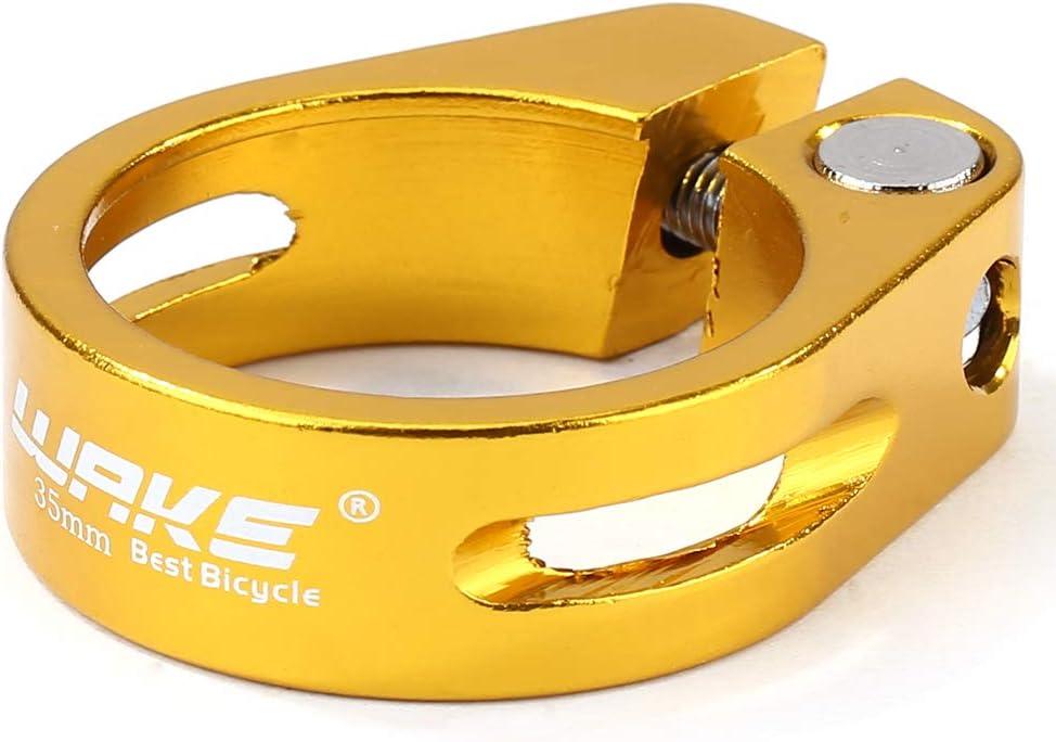 Seawang MTB Fahrrad Quick Release Sattelklemme Schnellspanner 35mm Fahrrad Sattelst/ützen Klemme