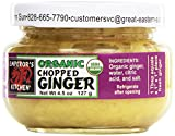 Emperor's Kitchen Condiments, Chopped Ginger, 4.5 oz