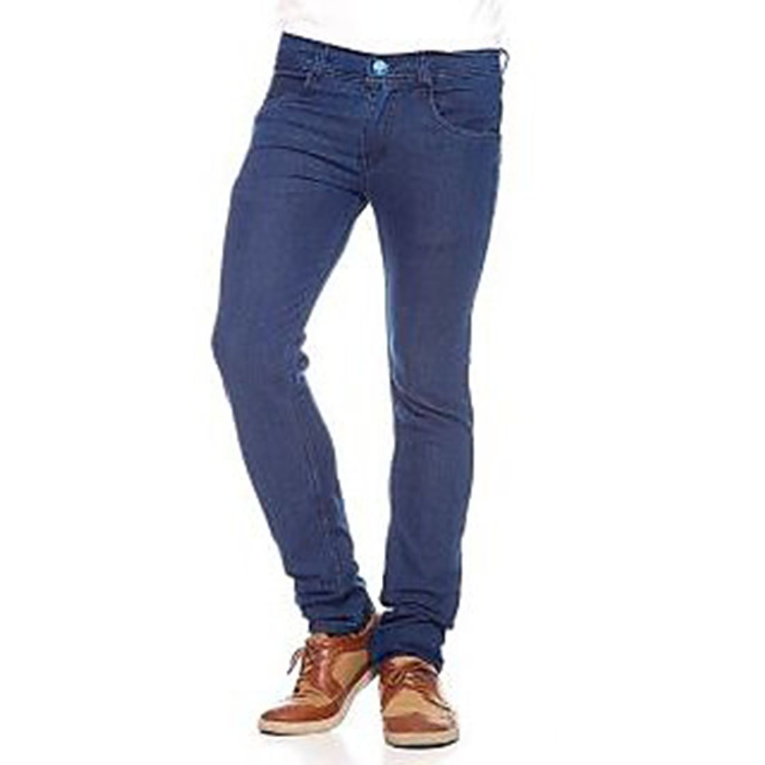 cad32e3bfe3 Waiverson Slim Fit Men s Dark Blue Jeans  Amazon.in  Clothing   Accessories