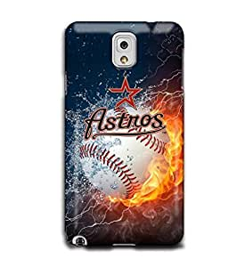 Tomhousomick Custom Design Forever MLB Houston Astros Team Case Cover for Samsung Galaxy Note 3