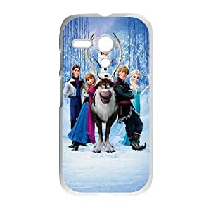 Motorola G Cell Phone Case White_Frozen Characters TR2421204