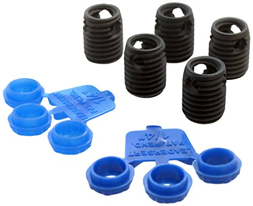 LeaderSert 1/2-13 SAE Thread Repair Insert Kit, Inserts and Leaders Only, ()