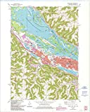 YellowMaps Winona West MN topo map, 1:24000 Scale, 7.5 X 7.5 Minute, Historical, 1972, Updated 1993, 27.51 x 22.03 in