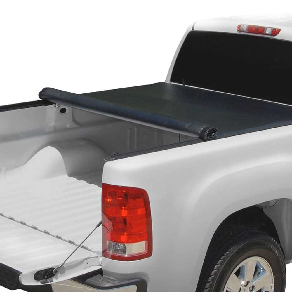 Prime Choice Auto Parts TC703310 6.5ft Bed Lock & Roll Up Soft Tonneau Cover