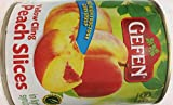 Gefen Yellow Cling Peach Slices In Light Syrup 28 Oz. Pack Of 3.