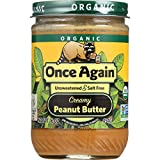 Once Again Organic Smooth Peanut Butter - 16 OZ