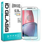 Moto G4 Plus 2016 Screen Protector - Invisible Defender Glass [0.33 mm TEMPERED GLASS] Ultimate Clear Shield, High Definition (HD) Quality, Anti-Scratch Technology for Motorola Moto G 4 Plus 2016