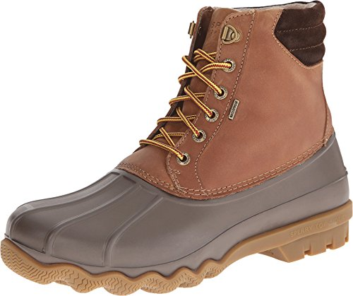 Sperry Top-Sider Men's Avenue Duck Boot Winter Boot, Tan/...