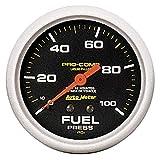 "Autometer 5412 2-5/8"" FUEL PRESS, 0-100 PSI, NO"