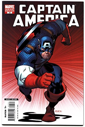 Captain America #25-Death of Captain America Variant cover 2007 NM-