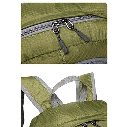 Multi Business Blue Lightweight purpose Folding Shoulders Travel Laidaye Backpack Waterproof Leisure w87Y6pxn