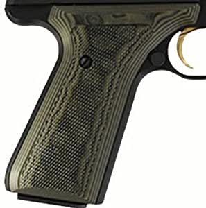 Amazon.com : Hogue Browning BuckMark Grips Checkered G-10