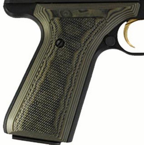 Hogue Browning BuckMark Grips Checkered G-10 Tan (Buckmark Camper compare prices)