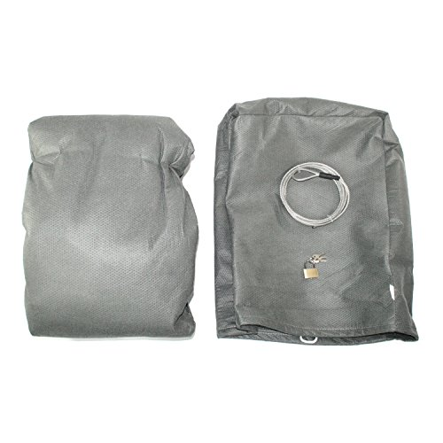 IAP Performance AC100010 Gray Deluxe 4-Layer Car Cover (Includes Lock, Cable, and Carry Bag for VW Beetle)