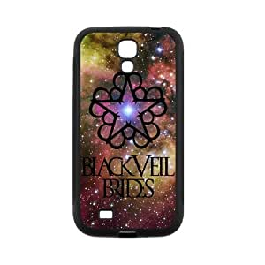 High Quality Customizable Durable you Rubber Material Black Veil your Brides Samsung about Galaxy S4 Back Cover Case