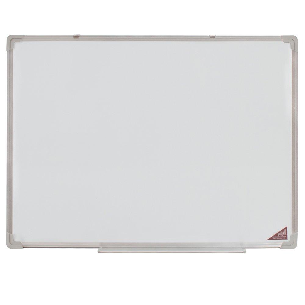 TecTake Lavagna magnetica bianca con 12 magneti disponibili in diverse misure 40x30cm
