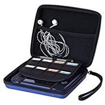 Austor Travel Carrying Protective Case for Nintendo 2DS, Blue
