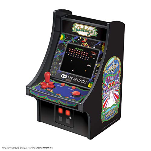Used, My Arcade Galaga Micro Player - Collectible Mini Arcade for sale  Delivered anywhere in USA