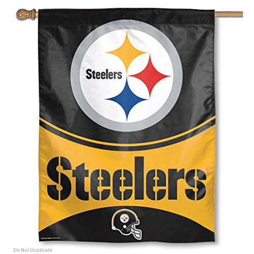 Wincraft Pittsburgh Steelers 27 Inch x 37 Inch Banner
