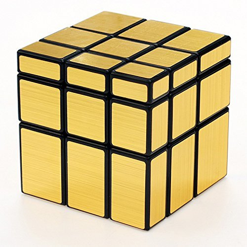 Irregular New 3 x 3 x 3Gold Mirror Cube Puzzle (Halloween Makeup Tutorial For Kids)