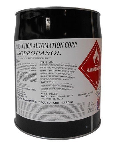 CleanPro 99% Isopropyl Alcohol (IPA), 5 Gallon Pail by CLEANPRO