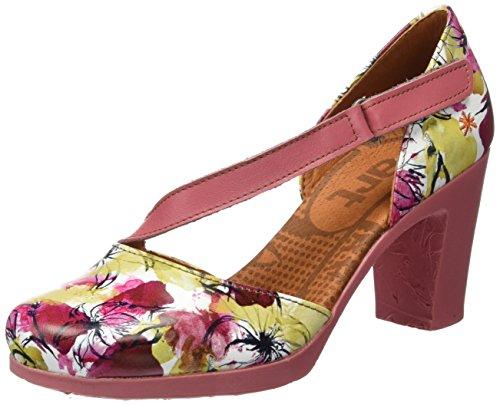 Fantasy Donna Sandali 0278 Multicolore flowers Art Rio toe Closed PwFSR5q
