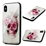 Best Flower Skulls For IPhones - Protective iPhone X Tempered Glass Case, Drop Protection Review