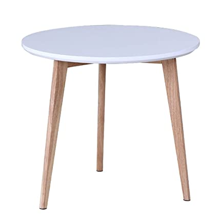 YONGLIANGgy Small Coffee Table Simple Modern Small Round Tea Table Tea Table  Small Table Solid Wood
