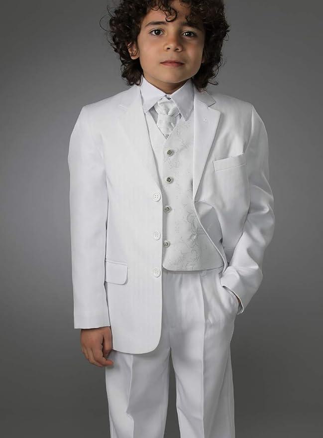 Boutique-Magique comunione cerimonia Pantaloni da ragazzo per matrimonio colore: Nero