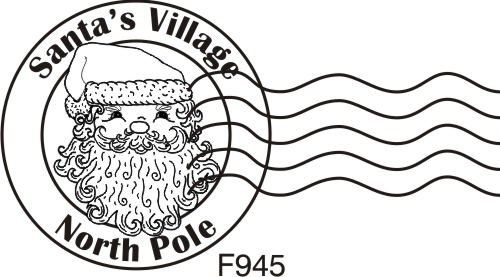 Amazon North Pole Postmark Rubber Stamp By DRS Designs Arts Crafts Sewing
