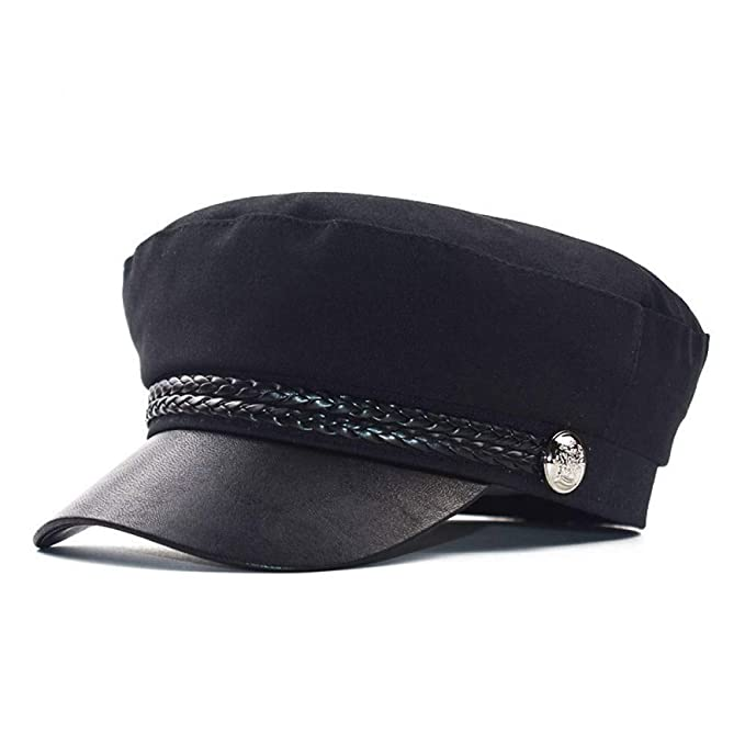 JJJRMP Moda para Mujer Sombrero Octagonal para Mujer Sombreros ...