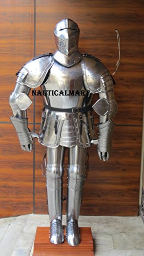 Medieval Knight Suit (NauticalMart Medieval Knight Full Suit Of Armor - Wearable Armor Costume)