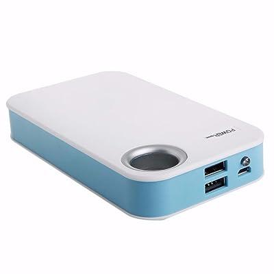 Squarex 13000mAh USB banque d'alimentation 5x 18650chargeur de batterie DIY Box Coque support pour téléphone LG