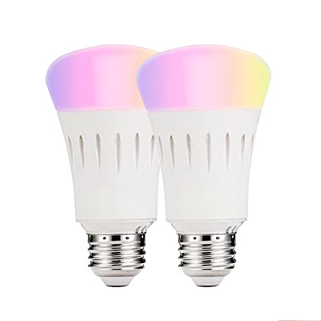 Wi-Fi Smart luz LED que cambian de Color regulable bombilla, Smartphone Ios y