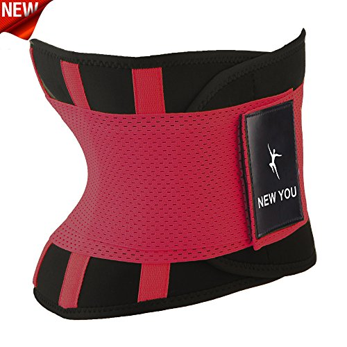 NEW-YOU-Waist-Trainer-Weight-Loss-Ab-Belt-Workout-Corset-and-Stomach-Slimming-Wrap