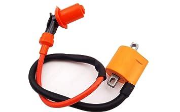 amazon com high quality hp ignition coil eton e ton 50 90 dxl axlEton Impulse 50cc Atv Wiring #13