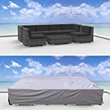 Urban Furnishing Premium Outdoor Patio Furniture Cover (10.2' x 6.0' x 2.3')