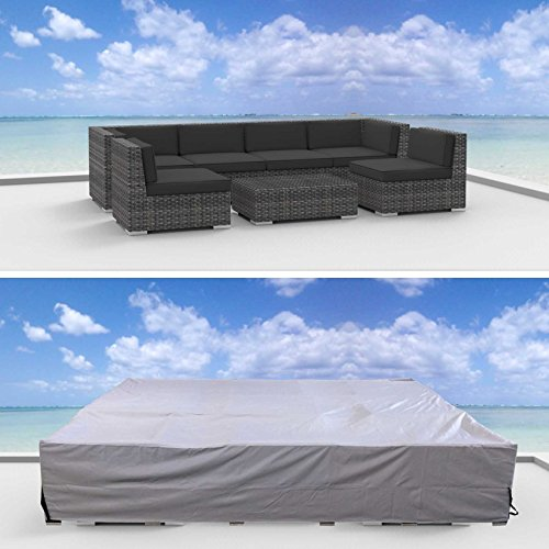Urban Furnishing Premium Outdoor Patio Furniture Cover (10.2' x 6.0' x 2.3') (Urban Patio Garden)