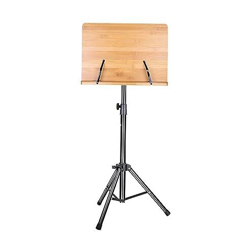 Atriles Soporte de trípode de mesa de música plegable de atril ...