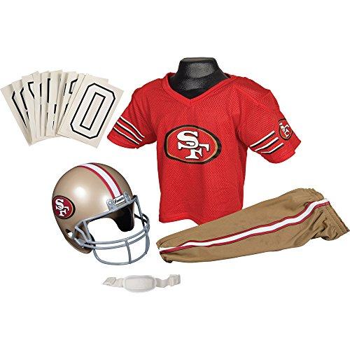 San Francisco 49ers Football Deluxe Uniform Set