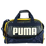 PUMA PV1676 Transformation 3.0 Duffel Bag Peacoat-Heather Charcoal-Yellow-White Review