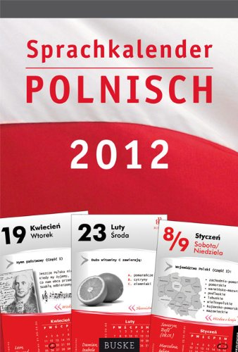 Sprachkalender Polnisch 2012