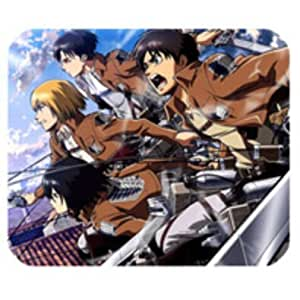 Fashion Customized Hot Japan Anime Attack On Titan Rectangle Mousepad