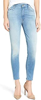 product image for MOTHER Women's High Waisted Looker Ankle Fray Skinny Jean, Shake Well