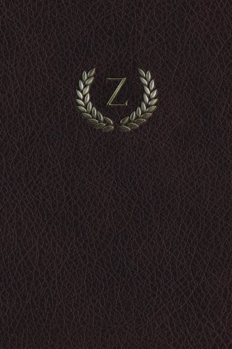 "Monogram ""Z"" Any Day Planner Notebook (Monogram Maroon 150 Planner) (Volume 26) ebook"