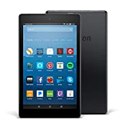 "Certified Refurbished Fire HD 8 Tablet with Alexa, 8"" HD Display, 32 GB, Black - with Special Offers"