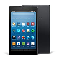 """Certified Refurbished Fire HD 8 Tablet with Alexa, 8"""" HD Display, 32 GB, Black - with Special Offers (Previous Generation – 7th)"""