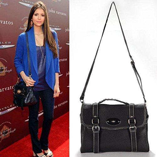 Poplife Celebrity Style Women's Satchel Cross Body Pu Leather Shoulder Bag Lady Day Bag